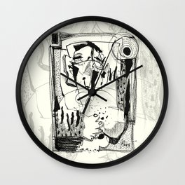 Sunbath Wall Clock