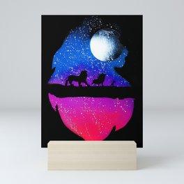 Simba Mini Art Print