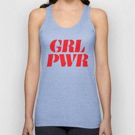 Girl Power GRL PWR Unisex Tank Top
