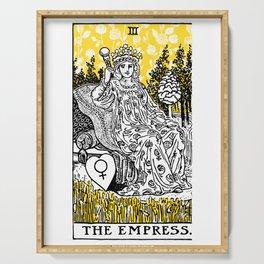 A Floral Tarot Print - The Empress Serving Tray