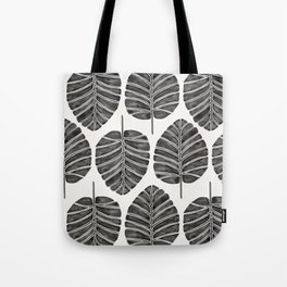 Elephant Ear Alocasia – Black Palette Tote Bag
