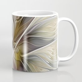 Floral Abstract, Fractal Art Coffee Mug