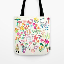 The Odd Floral Garden I Tote Bag