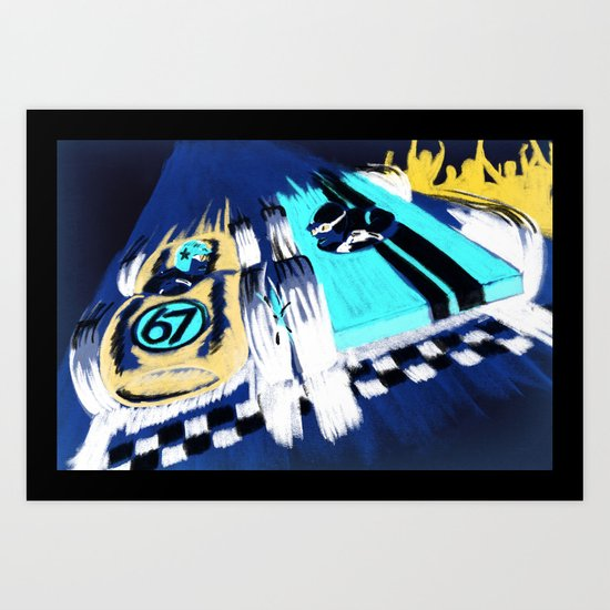 Pinewood Derby! Art Print