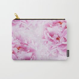 Pink Peonies Dream #2 #floral #decor #art #society6 Carry-All Pouch