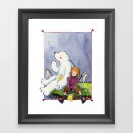 Star Catchers Framed Art Print