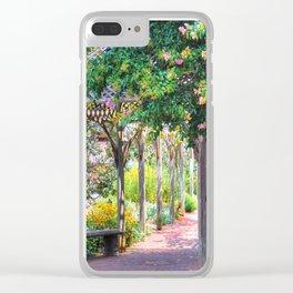 Biltmore Gazebo Clear iPhone Case