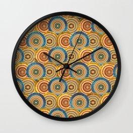 Circular Ethnic  pattern Wall Clock