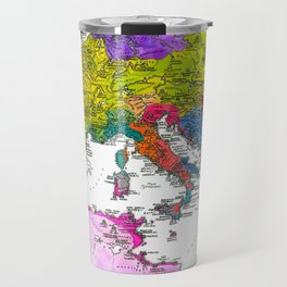The Peoples of Europe According to Ptolemy Travel Mug