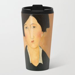 Amedeo Modigliani The Italian Woman Travel Mug