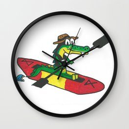 Gator Bait Gear Wall Clock