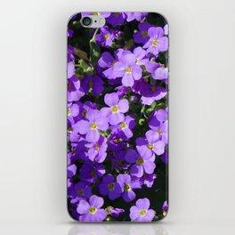 Violets iPhone Skin