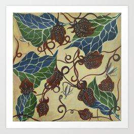 Floral-Musings-1 Art Print