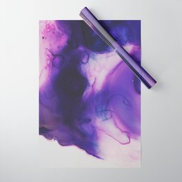 Violet Aura Wrapping Paper