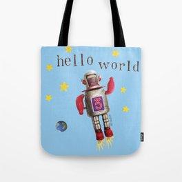 Hello world! Tote Bag