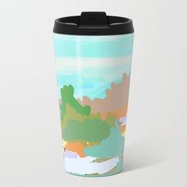 All Heroes Climb Mountains Travel Mug