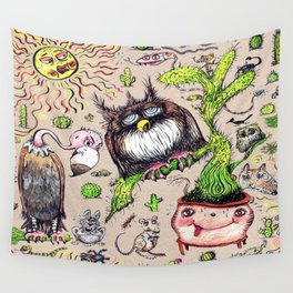 Damn it's hot! Wall Tapestry