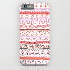 Red Design iPhone 6s Slim Case