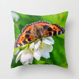 Spring breakfast Throw Pillow