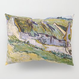 "Vincent van Gogh ""Cottages"" Pillow Sham"