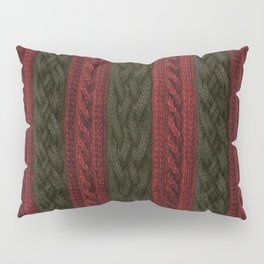 Cable Knit Stripe Pillow Sham