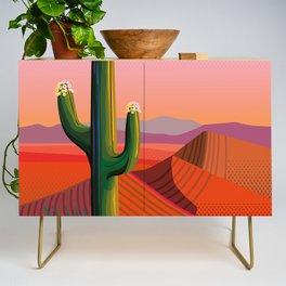 Saguaro Blossoms Credenza