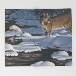 Interrupted Silence Throw Blanket