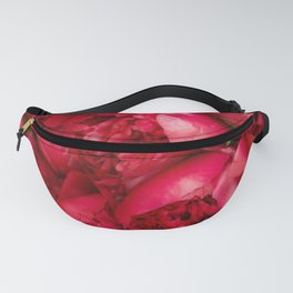 Beautiful Red peonies 2 Fanny Pack
