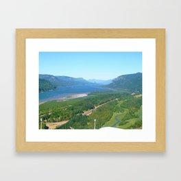 Gorge-ous  Framed Art Print