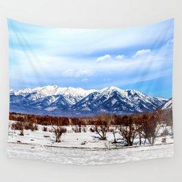 Sayan Mountains Wall Tapestry