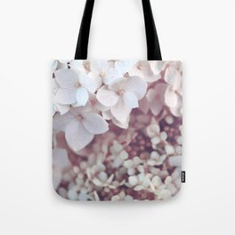 Flower photography by Olesia Misty Tote Bag