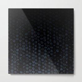 Cammo Dark Metal Print