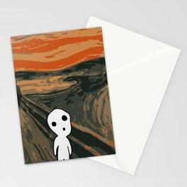 Kodama Scream Stationery Cards