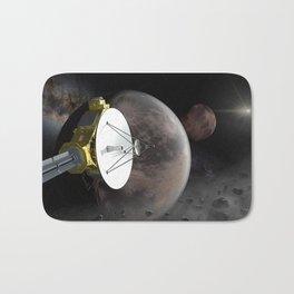 New Horizons flyby Pluto into Kuiper belt Bath Mat