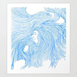 Confort Art Print