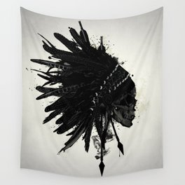Warbonnet Skull Wall Tapestry