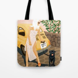 Tour #illustration Tote Bag