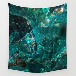 Cracked Teal Sugar Wall Tapestry