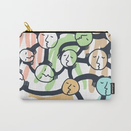 Connected Dreamers Carry-All Pouch
