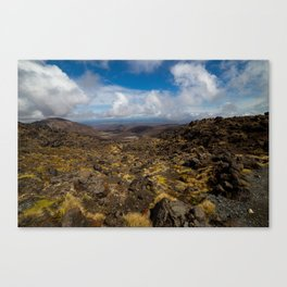 Tongariro National Park, NZ Canvas Print