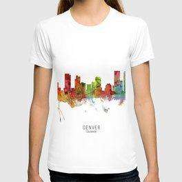 Denver Colorado Skyline T-shirt