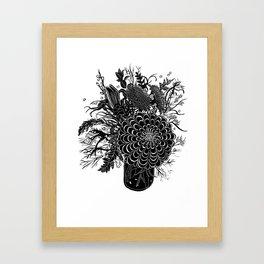 Field Arrangement Framed Art Print