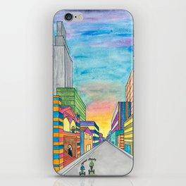 Happy City iPhone Skin