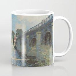 Claude Monet The Bridge at Argenteuil 1874 Painting Coffee Mug