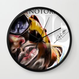 Notorious BIG Wall Clock