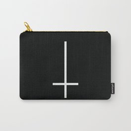 Flipped over cross Carry-All Pouch