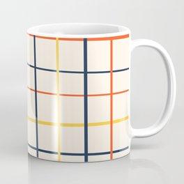 simple grid pattern Coffee Mug