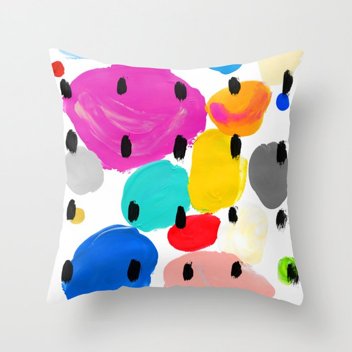 Bernard Pattern Throw Pillow