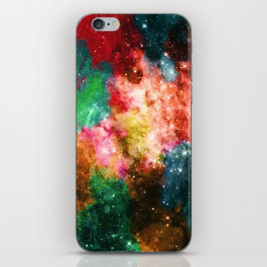 Rainbow Galaxy iPhone & iPod Skin