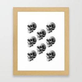 Skull pattern 2 Framed Art Print